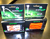 evolve golf tees package